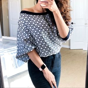 Anthro BAILEY 44 Silk Dolman Sleeves Top